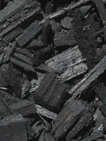 Black Colored Clean Mill Chips