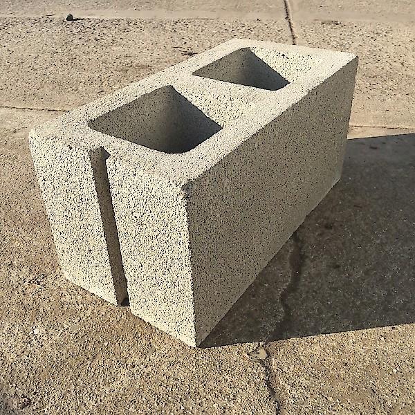 Reclaimed Concrete Blocks: Concrete Block - Standard - 8x8x16