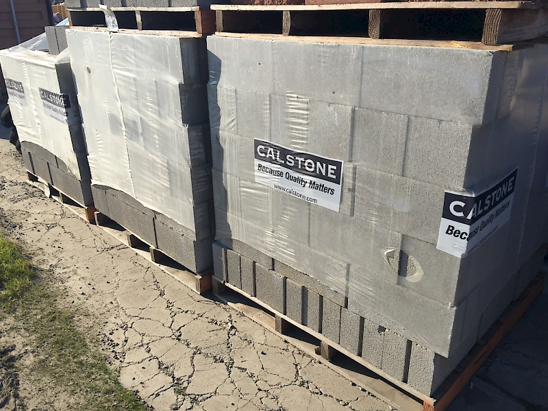 Concrete Block - Standard - 8x8x16 | Bee Green Recycling & Supply
