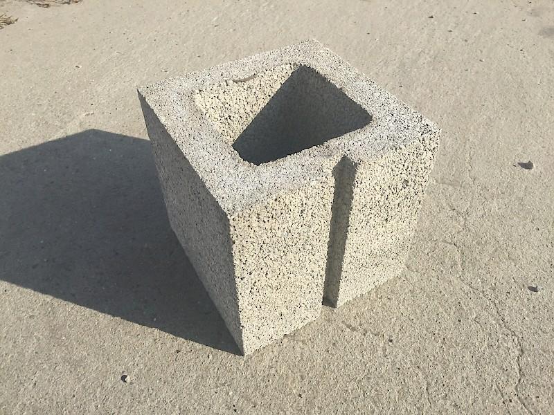 Concrete Block - Standard - 8x8x16 | Bee Green Recycling & Supply