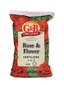 G&B Rose & Flower Fertilizer