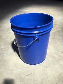5 Gallon Bucket - Blue