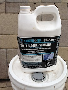 SureBond Wet Look Sealer 1 Gallon