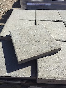 "Patio ""Stepping Stones"" - 12"" Square Pewter"