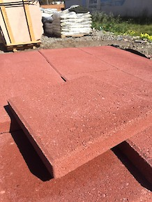 "Patio ""Stepping Stones"" - 12"" Square RiverRed"