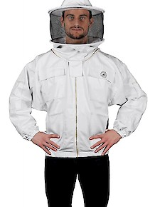 Humble Bee 310-Polycotton Beekeeping Jacket w/Round Veil
