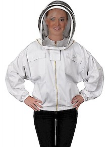 Humble Bee 311-Polycotton Beekeeping Jacket w/Round Veil