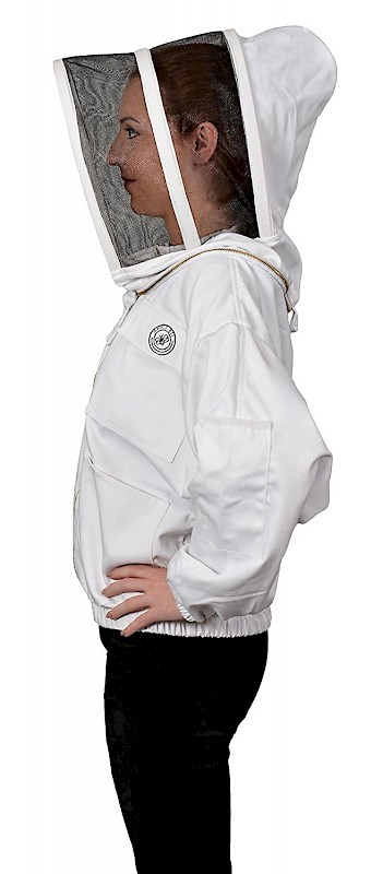 Humble Bee 311 Polycotton Beekeeping Jacket W Round Veil