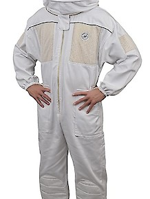Humble Bee 430-Ventilated Beekeeping Suit w/Round Veil