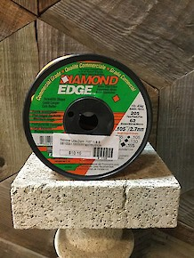 "Trimmer Line-Diamond .105"" 1LB Spool"