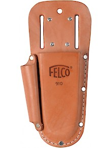 Holster - Leather w/Sharpener pocket