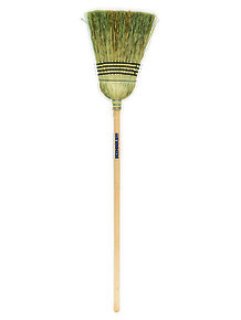 Heavy Duty Contractor Corn Broom