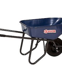 Excavator 6' Cu Ft Wheelbarrow