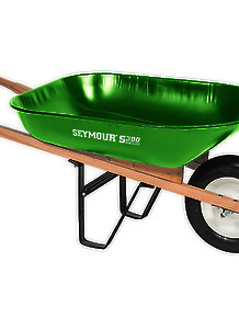 Wheelbarrow Green Pro-value 6'