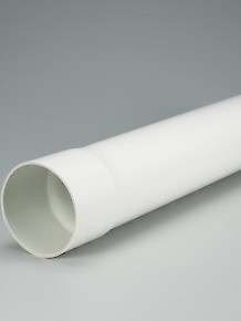PVC Solid 10 Foot Drain Pipe