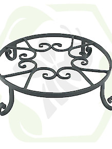 Forged Iron Pot Trivet