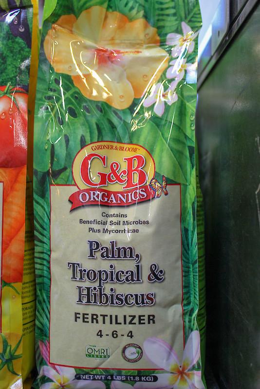 G&B Palm, Tropical & Hibiscus Fertilizer | Bee Green Recycling