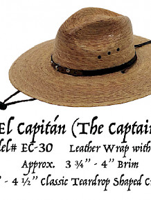 Hat - El Capitan (The Captain)